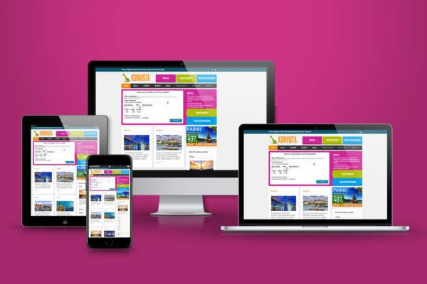 Konvista - multiple display layout