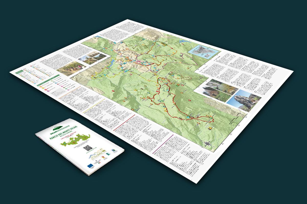 Mappa turistica - Sicani Experience